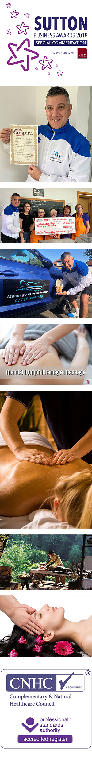 Profile picture for Mobile Massage by Theo